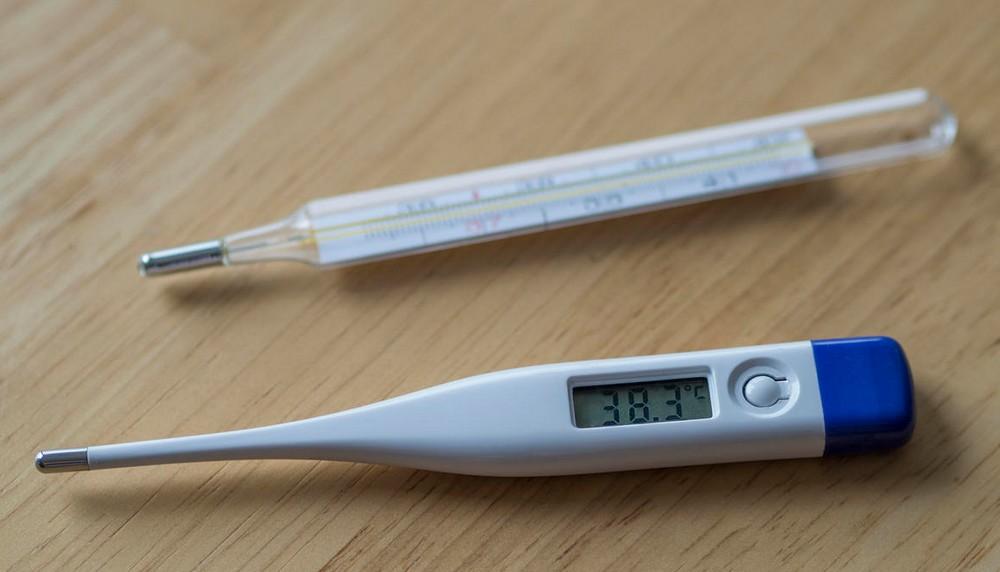 Quel type de thermomètre utilisé pour mesurer la fièvre?
